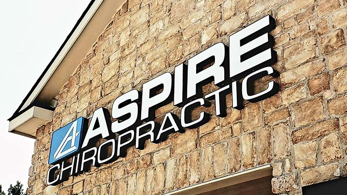 Chiropractic North Richland Hills TX Building Sign