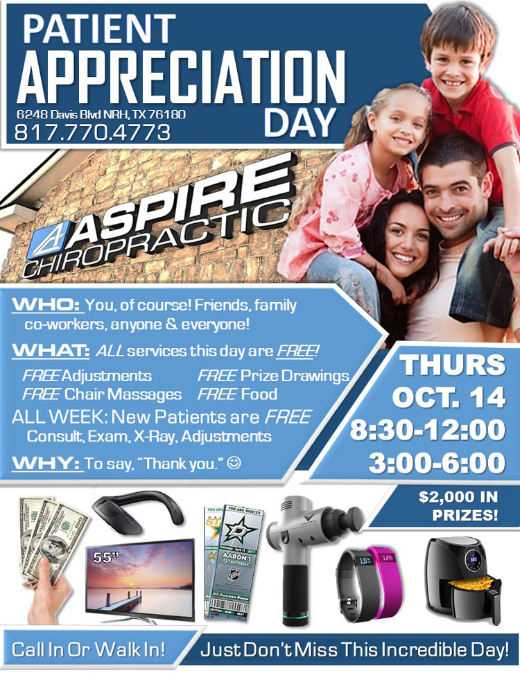 Chiropractic North Richland Hills TX Event